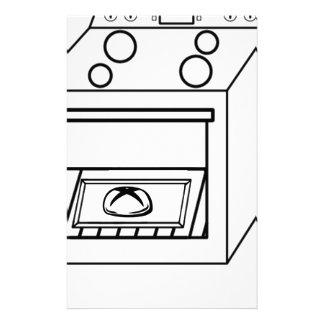 Papelería bollo en el horno, bebé divertido en mamá