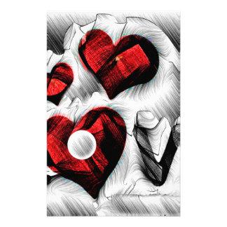 Papelería Bosquejo del amor