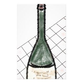 Papelería Botella de vino