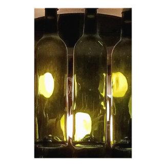Papelería Botella de vino enrrollada artística de Masculinev