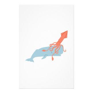 Papelería Calamar y ballena