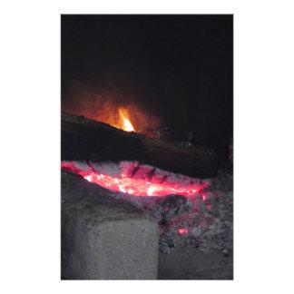 Papelería Chapiteles del calor de la llama del fuego de