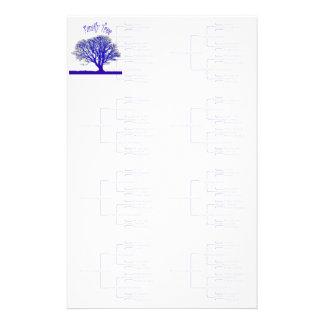 Papelería Colección del árbol de familia