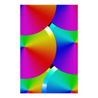 Papelería Colores del arco iris