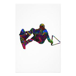 Papelería Colores salvajes del Wakeboarder