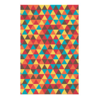 Papelería Colorido triangular
