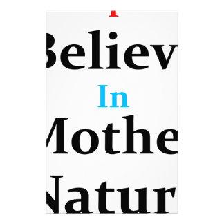 Papelería Creo en madre naturaleza