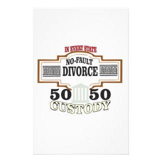 Papelería custodia 50 50 en boda