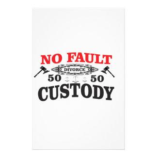 Papelería custodia 50 del divorcio 50 del mazo