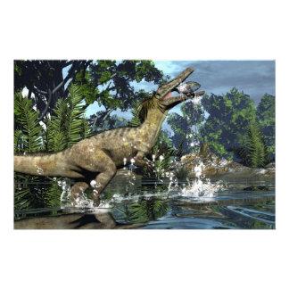 Papelería Dinosaurio de Austroraptor
