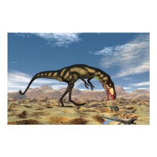 Papelería Dinosaurio de Dilong - 3D rinden