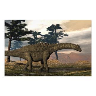 Papelería Dinosaurio del Ampelosaurus