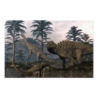 Papelería Dinosaurios del Ampelosaurus