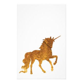 Papelería Diversos colores Prancing mágicos del unicornio de