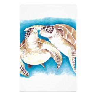 Papelería Dos tortugas de mar