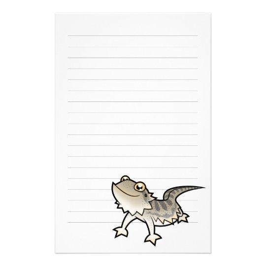 Papelería Dragón barbudo del dibujo animado/dragón de Rankin | Zazzle.es
