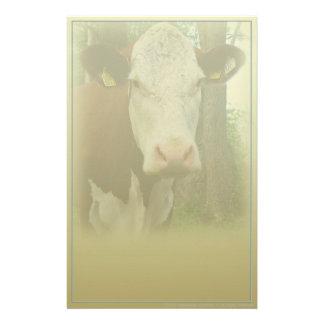 Papelería Efectos de escritorio curiosos de la vaca