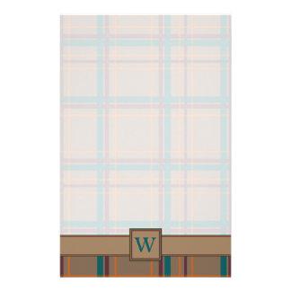 Papelería Efectos de escritorio elegantes de la tela