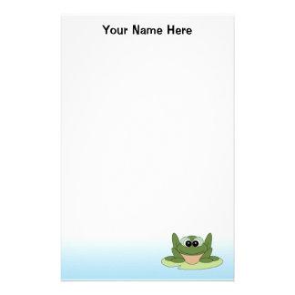Papelería Efectos de escritorio personalizados de la rana