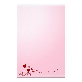 Papelería El amor observa el monograma