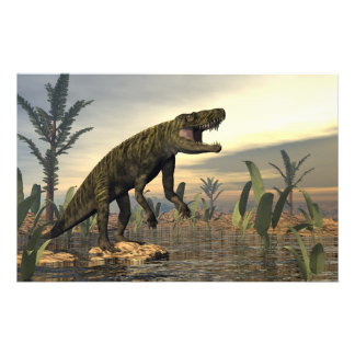 Papelería El dinosaurio -3D de Batrachotomus rinde
