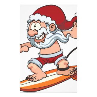 Papelería El practicar surf de Santa