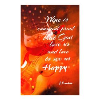 Papelería El vino nos hace felices