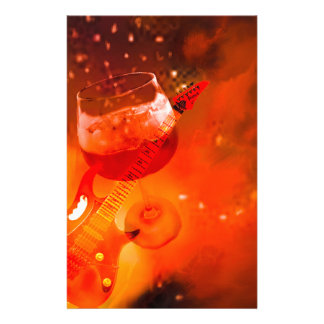 Papelería El vino y la música son esenciales en nuestra