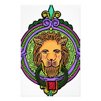 Papelería Exclusiva del arte del león