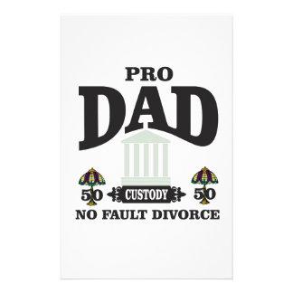 Papelería favorable imparcialidad del papá ante el tribunal