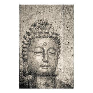 Papelería Fe de la yoga de Buda del vintage