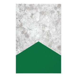 Papelería Flecha concreta Forest Green #326