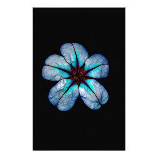Papelería Flor de neón 1