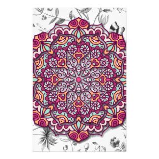 Papelería Floral Mandala