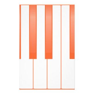 Papelería Fondo dominante del piano