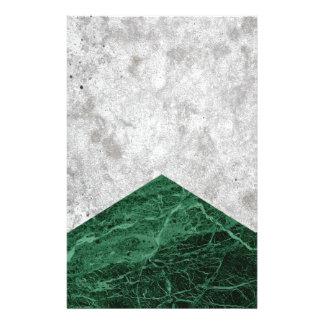 Papelería Granito concreto #412 del verde de la flecha