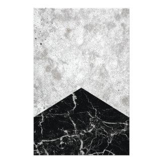 Papelería Granito concreto #844 del negro de la flecha