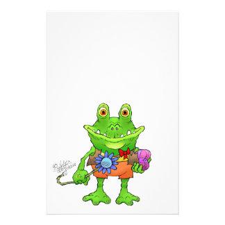 Papelería Ilustracion de una rana