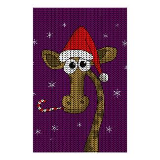 Papelería Jirafa del navidad