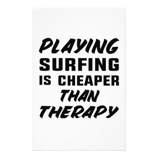 Papelería Jugar practicar surf es más barato que terapia
