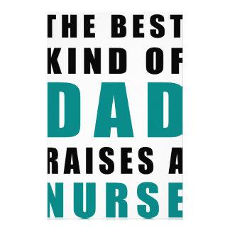 Papelería la mejor clase de papá cría a una enfermera