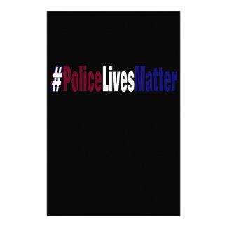 Papelería # la policía vive materia
