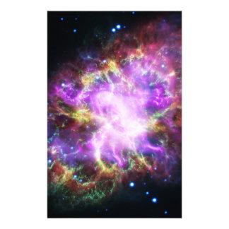 Papelería La radiografía de Chandra en la nebulosa de