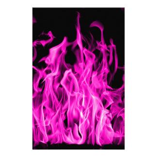 Papelería Llama violeta y regalos violetas del fuego de St