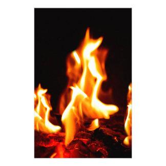 Papelería Llamas ardientes