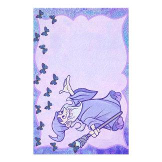 Papelería Mago azul inmóvil
