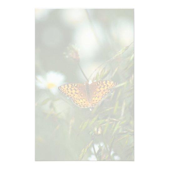 Papelería Mariposa pacífica del Fritillary