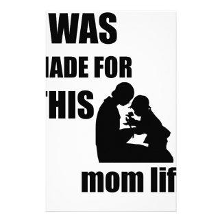 Papelería Me hicieron para esta mamá Lif