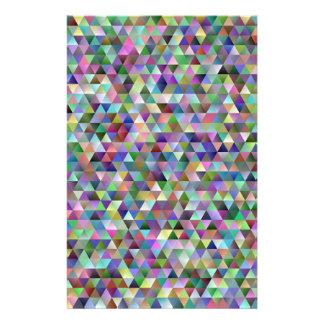 Papelería Modelo feliz del triángulo