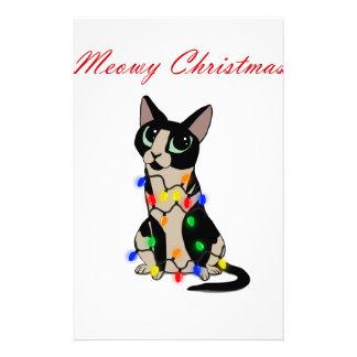 Papelería Navidad de Meowy